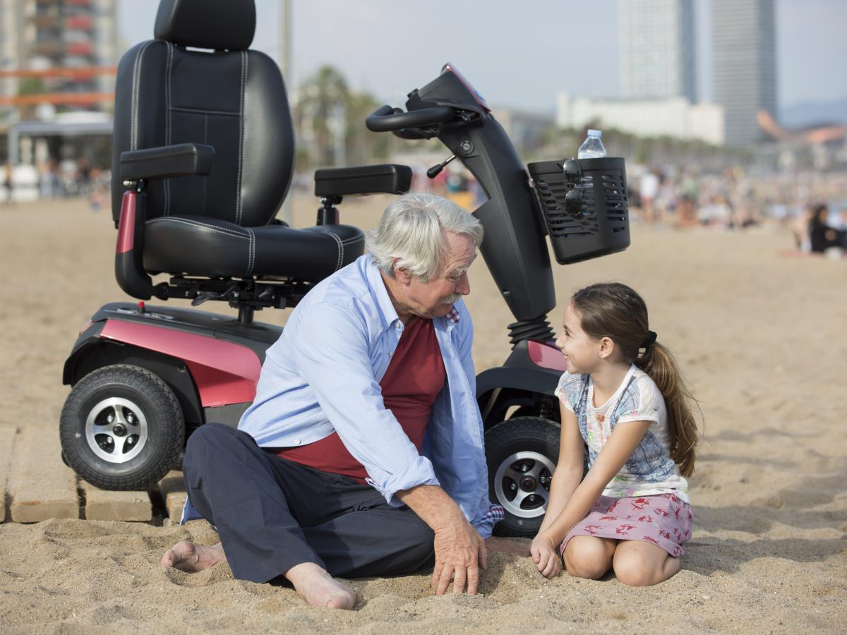 New Invacare Orion Pro - Comfort, safety and reliability with a touch of style